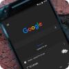 Темная тема Google