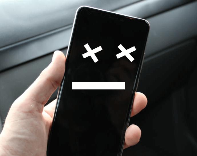Телефон не работает
