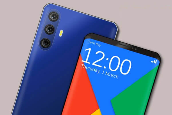 Xiaomi Redmi 7 Pro спереди и сзади