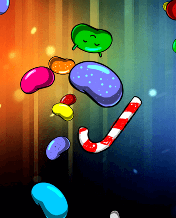 Пасхалка Android 4.1 Jelly Bean