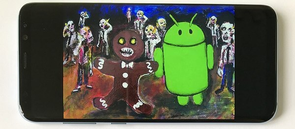 Пасхалка Android 2.3 Gingerbread