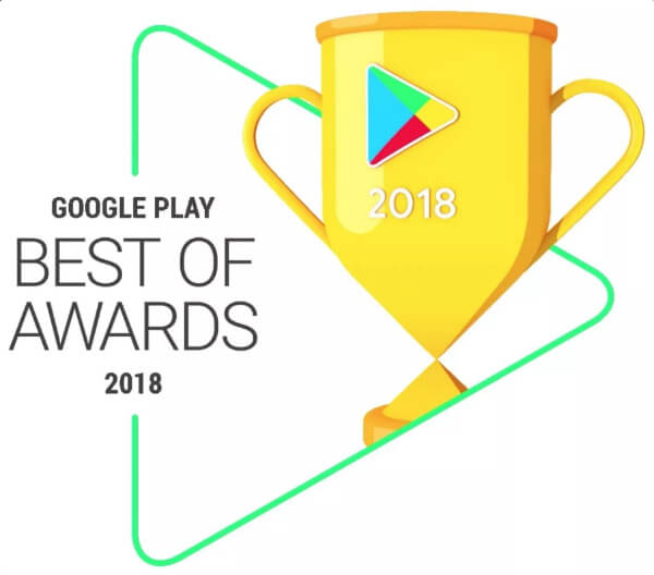 Google Play Best Award 2018