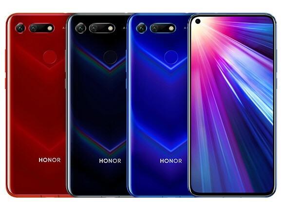 Honor V20 все цвета