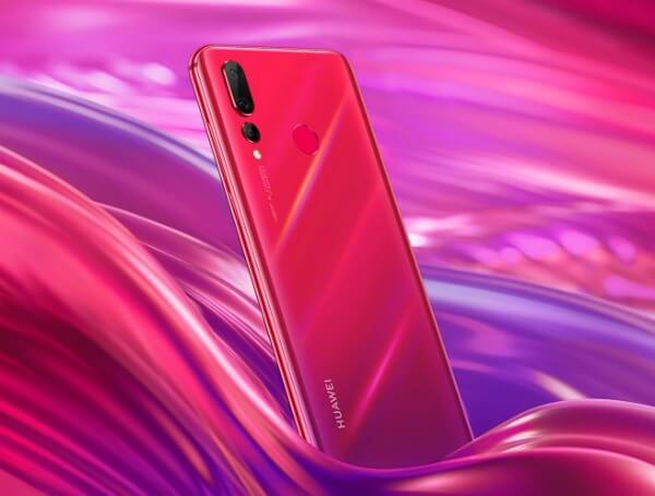Huawei Nova 4 красный