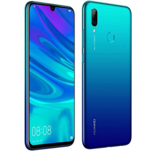 Huawei P Smart 2019 синего цвета