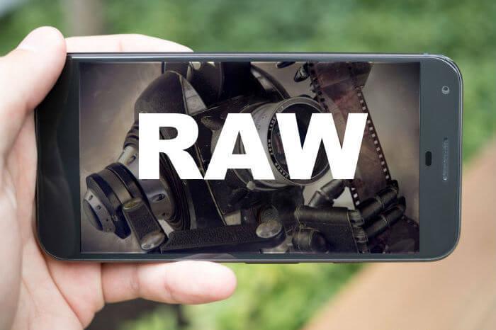RAW в смартфоне