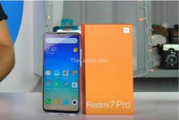 Xiaomi Redmi 7 Pro живое фото