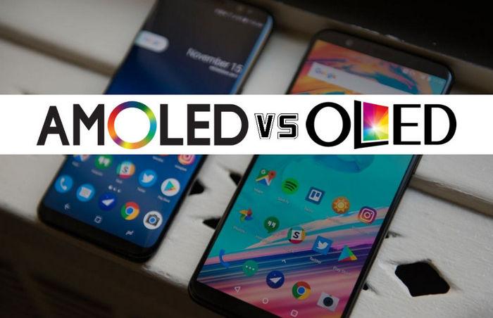 Отличия AMOLED и OLED