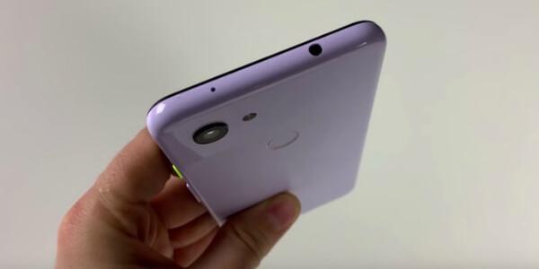 Google Pixel 3 Lite задняя панель