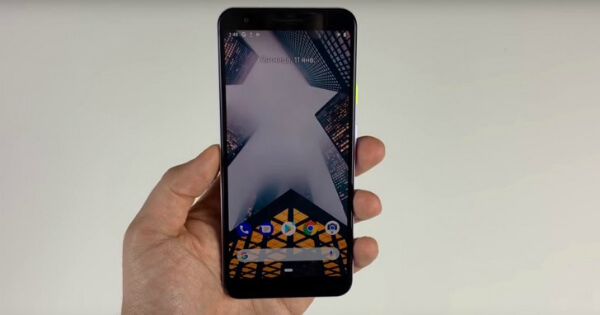 Google Pixel 3 Lite передняя панель