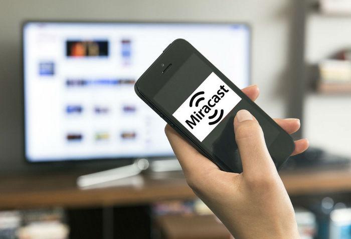 Miracast на смартфоне