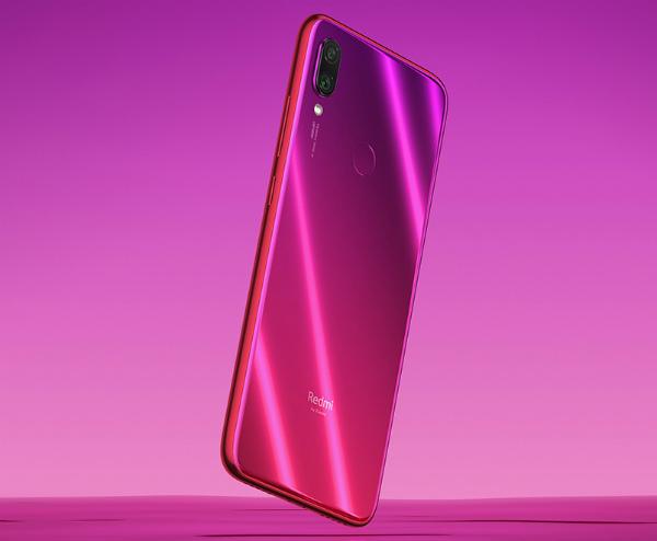 Redmi Note 7 розового цвета