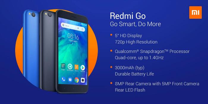Характеристики Redmi Go