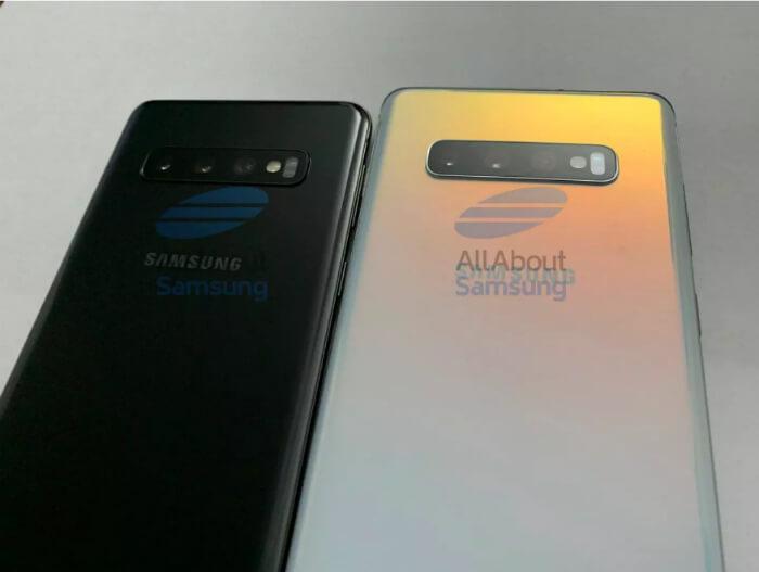 Samsung Galaxy S10 и S10 Plus камеры