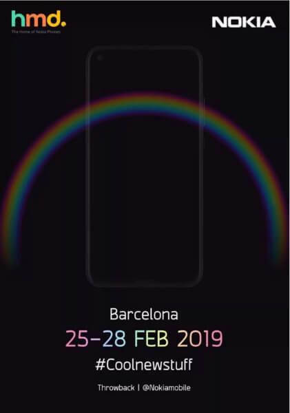 Тизер Nokia 6 (2019)