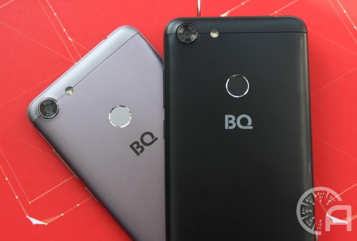Камеры смартфонов BQ