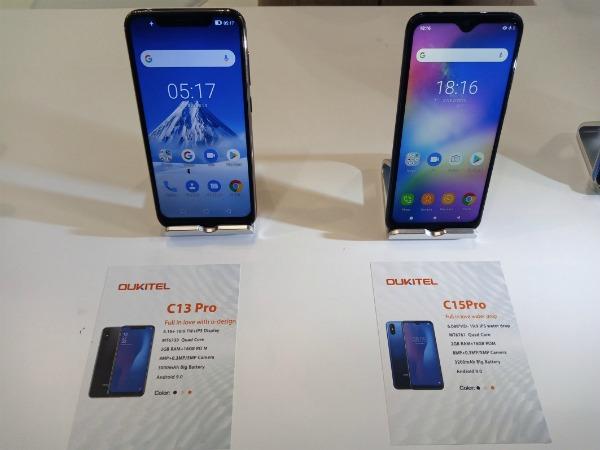 Oukitel C13 Pro и C15 Pro