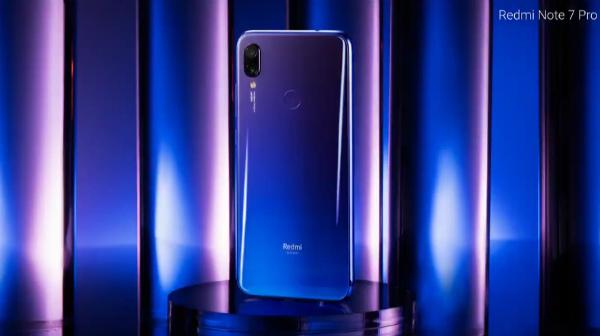 Синий Redmi Note 7 Pro