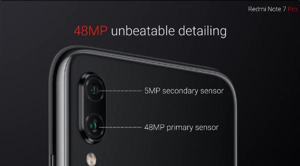 Камера Redmi Note 7 Pro