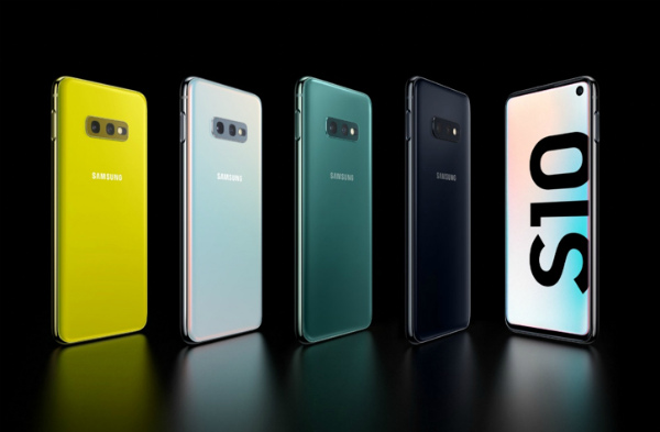 Все цвета Samsung Galaxy S10e