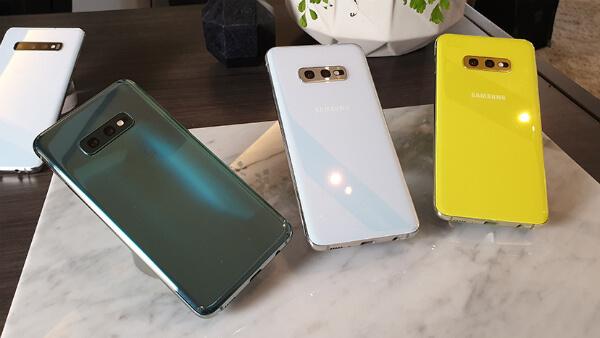 Три Samsung Galaxy S10e