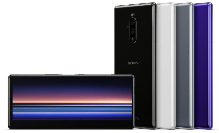Все цвета Sony Xperia 1
