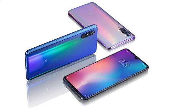 Три Xiaomi Mi 9