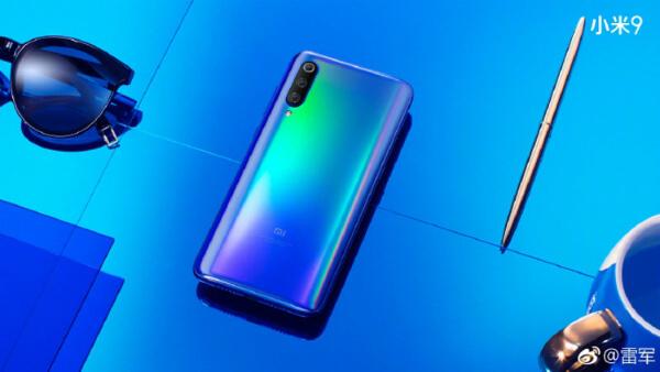 Xiaomi Mi 9 задняя панель