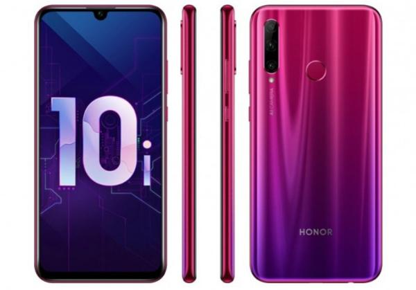 Honor 10i дизайн
