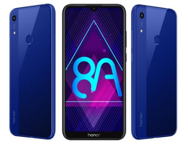 Honor 8A в синем цвете