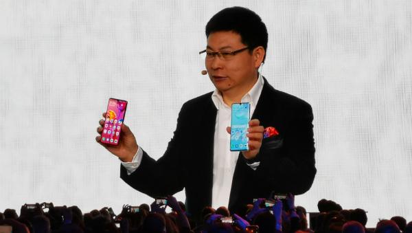 Huawei P30 и P30 Pro на презентации