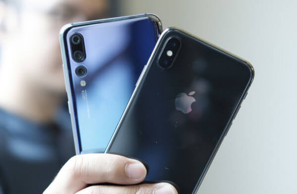Huawei P20 и iPhone X