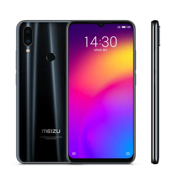 Черный Meizu Note 9