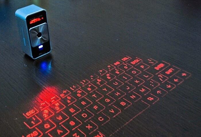 Виртуальная лазерная клавиатура