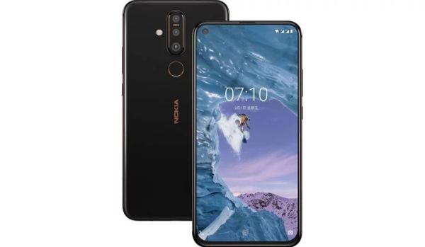 Nokia X71 спереди и сзади