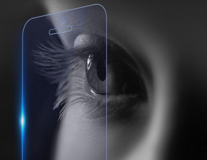 Защита зрения от смартфона