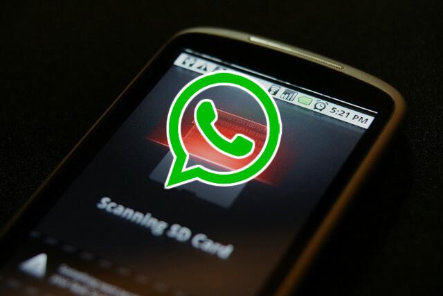 WhatsApp забивает память