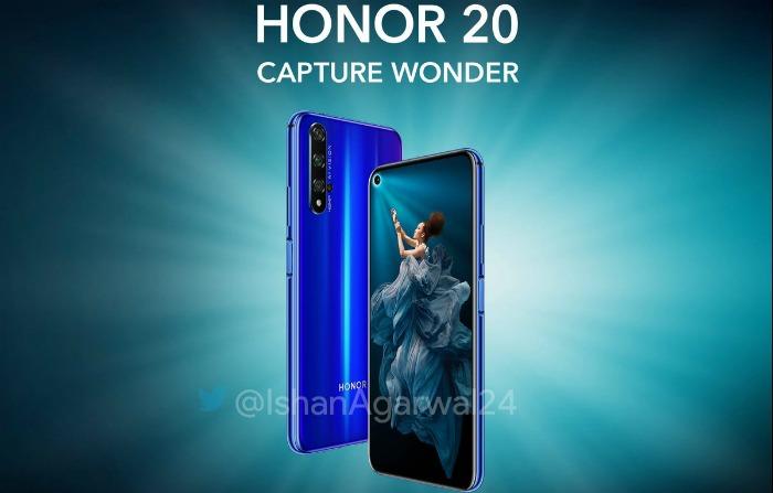 Honor 20 промо-фото