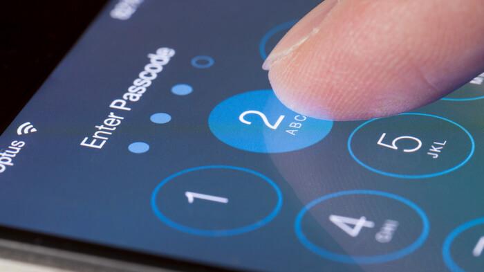 Пароль на смартфоне