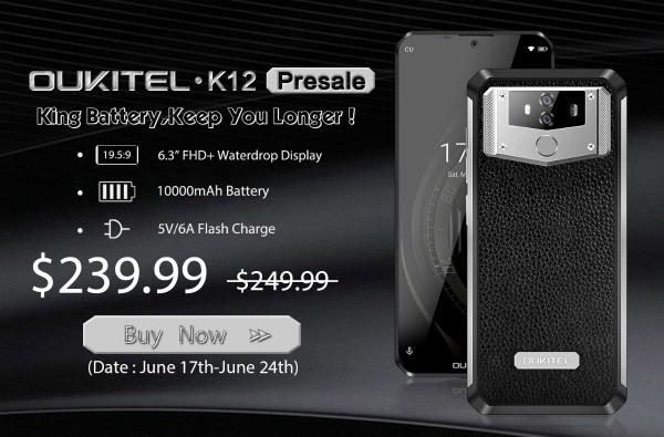 Цена Oukitel K12