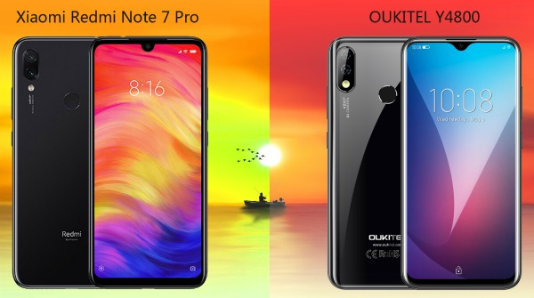 Oukitel Y4800 против Redmi Note 7 Pro