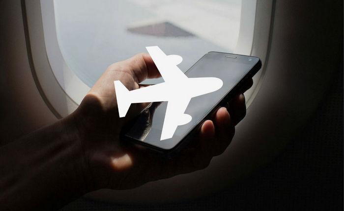 Режим полета в телефоне
