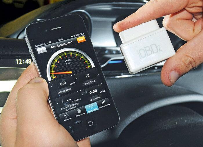Диагностика автомобиля через смартфон