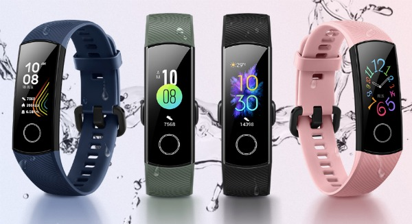 Все цвета Honor Band 5