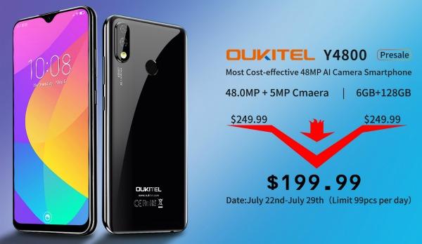 Старт продаж Oukitel Y4800