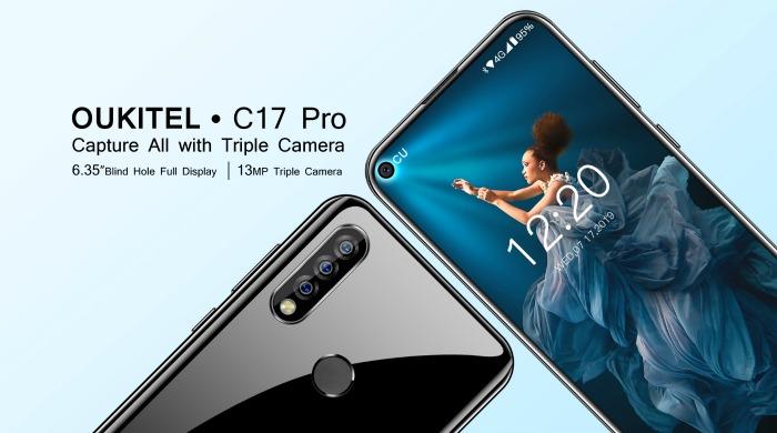 Основная камера Oukitel C17 Pro