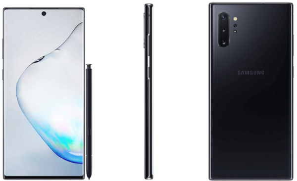 Рендеры Samsung Galaxy Note 10 Plus