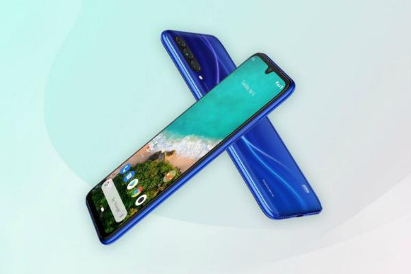 Синий Xiaomi Mi A3