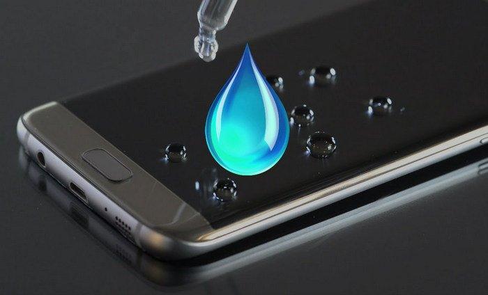 Жидкое стекло для экрана