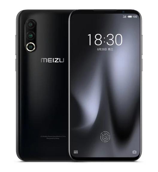 Черный Meizu 16s Pro